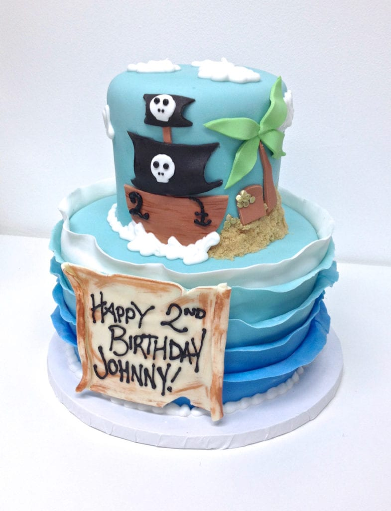 Wondrous Nashville Sweets Pirate Birthday Cake Funny Birthday Cards Online Alyptdamsfinfo