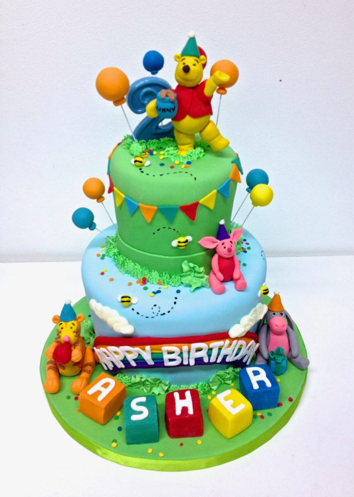 Admirable Nashville Sweets Winnie The Pooh Birthday Cake Funny Birthday Cards Online Alyptdamsfinfo