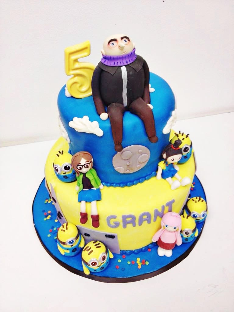 Surprising Nashville Sweets Despicable Me Birthday Cake Funny Birthday Cards Online Inifofree Goldxyz