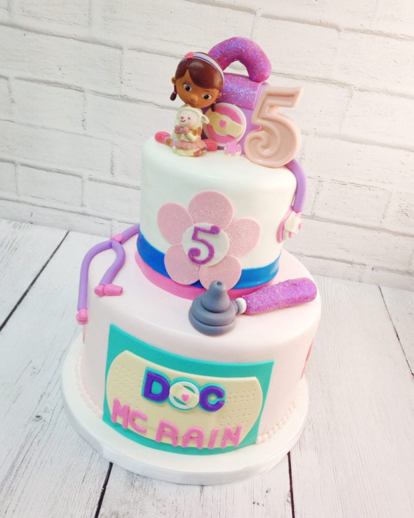 Admirable Nashville Sweets Doc Mcstuffins Birthday Cake Personalised Birthday Cards Bromeletsinfo