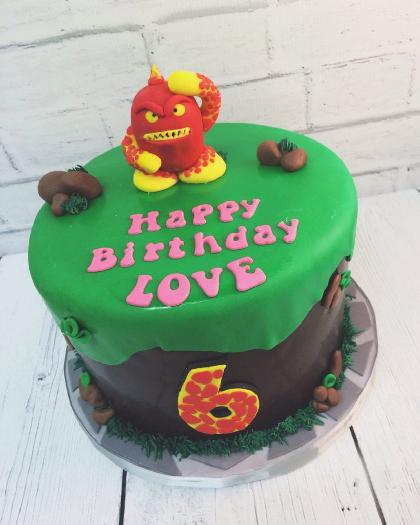 Magnificent Nashville Sweets Skylanders Birthday Cake Funny Birthday Cards Online Fluifree Goldxyz