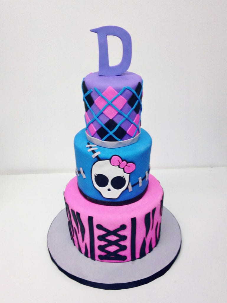 Wondrous Nashville Sweets Monster High Birthday Cake Funny Birthday Cards Online Inifofree Goldxyz