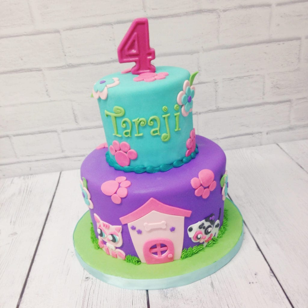 Wondrous Nashville Sweets Littlest Pet Shop Cake Funny Birthday Cards Online Elaedamsfinfo