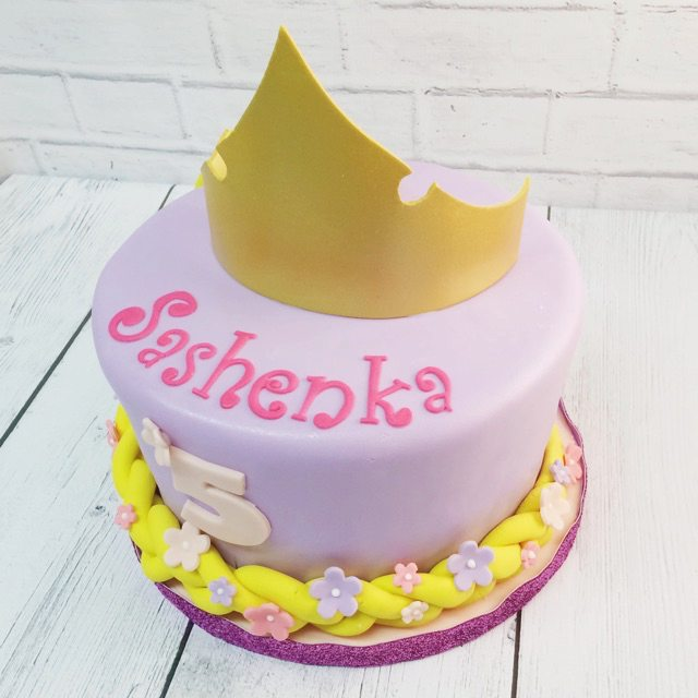 Miraculous Nashville Sweets Tangled Birthday Cake Funny Birthday Cards Online Overcheapnameinfo