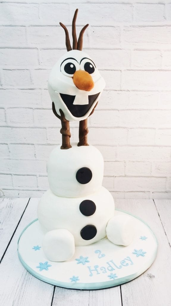 Cool Nashville Sweets Frozen Olaf Birthday Cake Funny Birthday Cards Online Alyptdamsfinfo